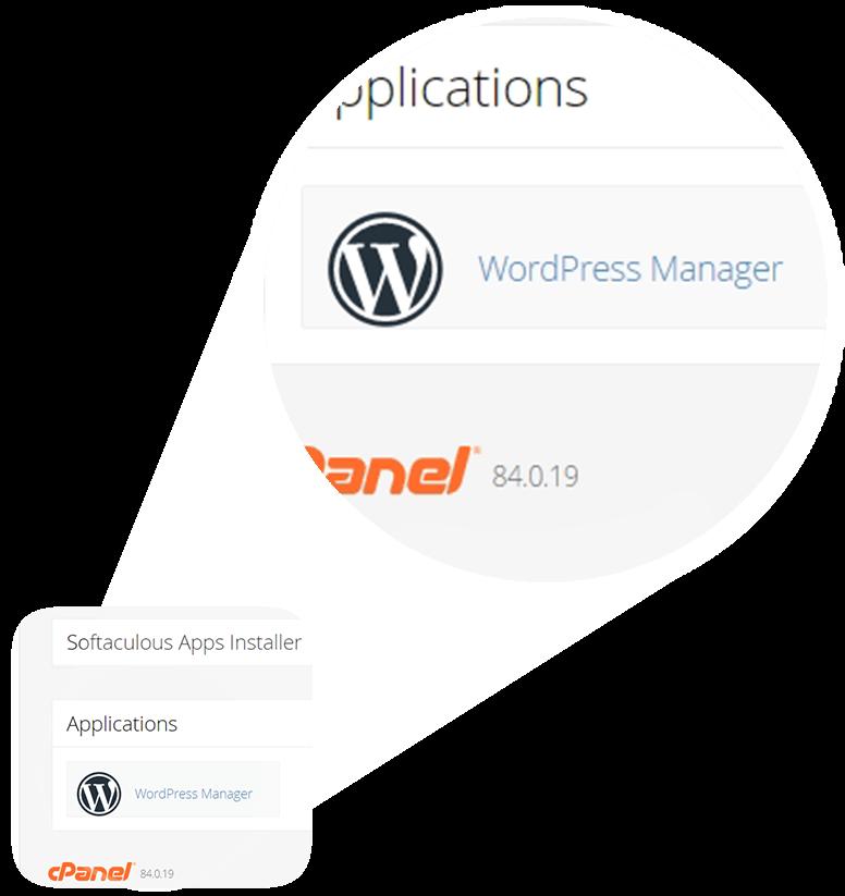 WordPress Manager Click
